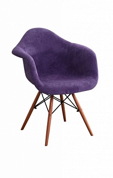 Стул DAW Patchwork Purple, Eames Style