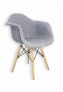 Стул DAW Patchwork Gray, Eames Style