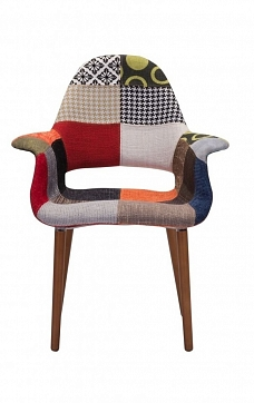 Стул Organic Patchwork, Eames Style