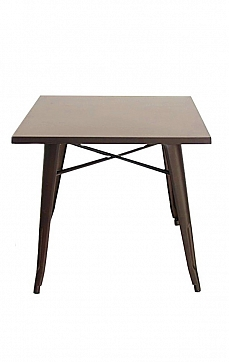 СТОЛ MARAIS SQUARE TABLE сталь, Tolix Style